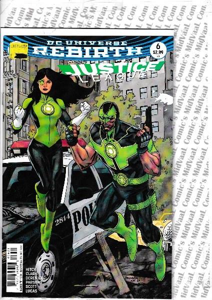 Justice League 6 - rebirth-variant