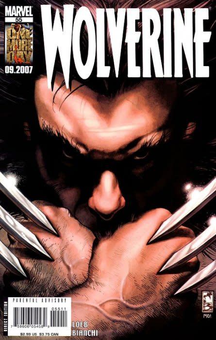 Wolverine 55 - death of sabretooth