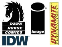 Dark horse Dynamite Image IDW