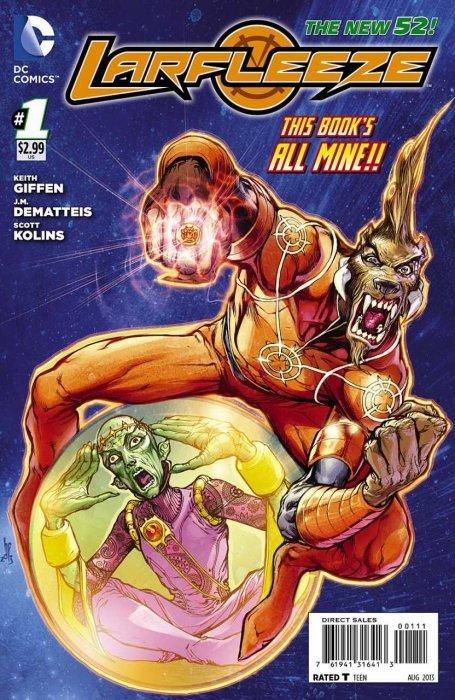 Larfleeze Issue # 1