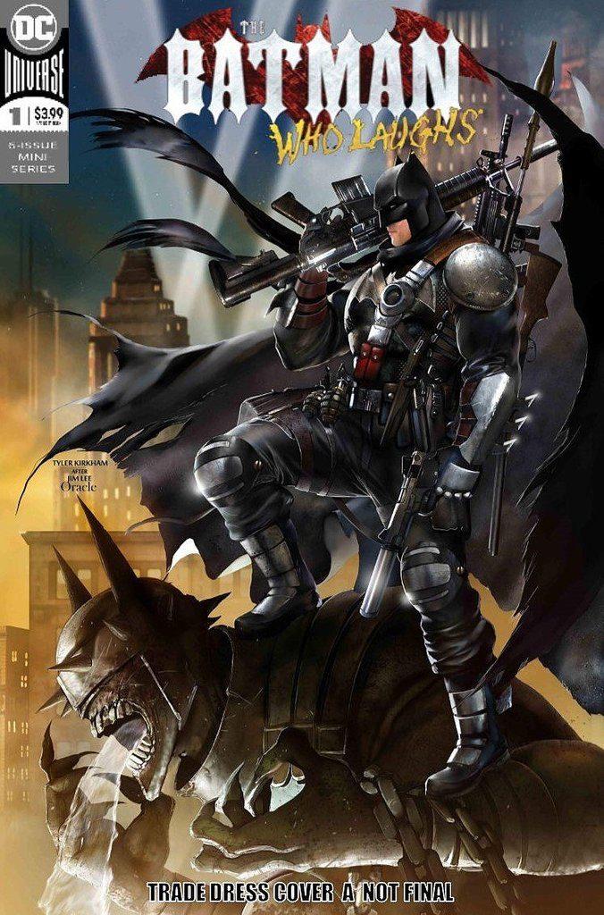 BATMAN WHO LAUGHS #1 Tyler Kirkham – Batman 608 Homage Variant Cover With COA