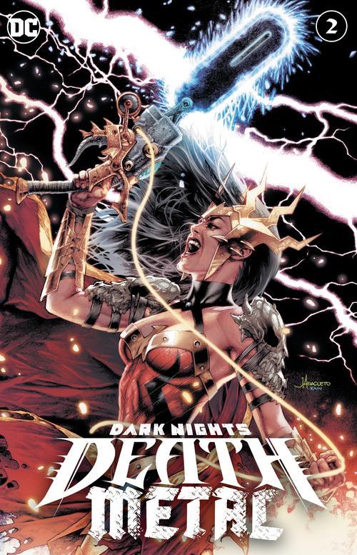 DARK NIGHTS DEATH METAL #2 (OF 6) JAY ANACLETO EXCLUSIVE VARIANT