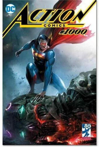 ACTION COMICS #1000 FRANCESCO MATTINA VARIANT TRADE DRESS LIMITED TO 3000
