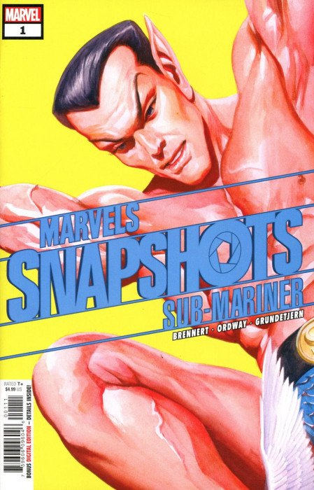 Marvels Snapshots: Sub-Mariner Issue # 1