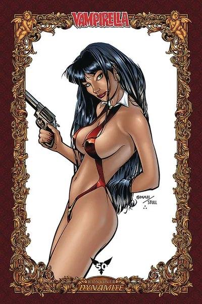 Vampirella #8 (Louis Small Icon Variant)