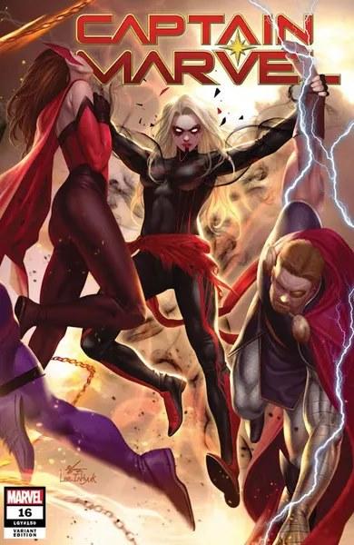 Captain Marvel #16 (Inhyuk Lee Connecting Variant)