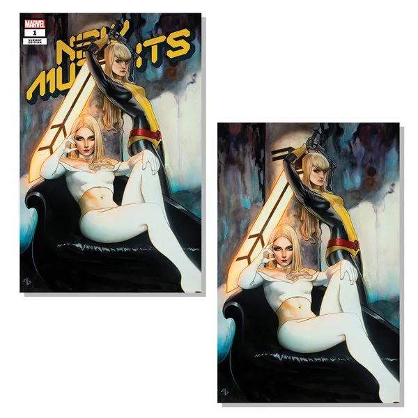 New Mutants #1 (Granov Variant Set)Only 1000 printed