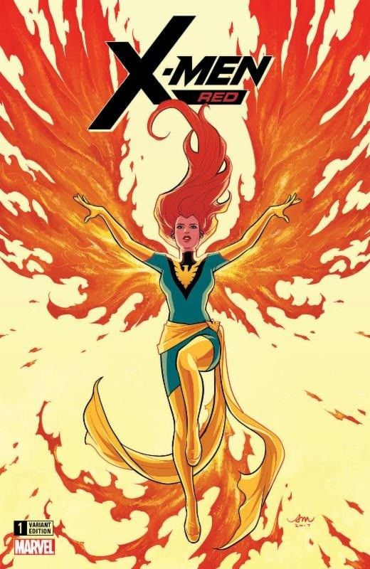 X-MEN RED 1 AUDREY MOK COMICXPOSURE EXCLUSIVE VARIANT