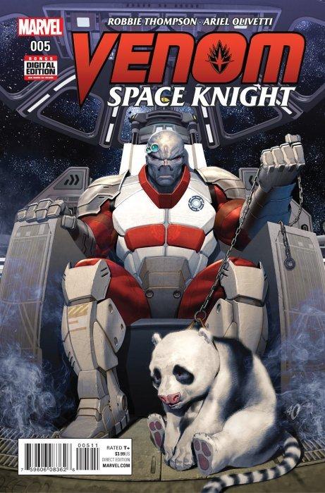 Venom: Space Knight Issue # 5