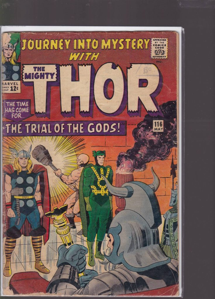 Journey into Mystery Issue # 116 MAY 1965 CONDT GOOD.