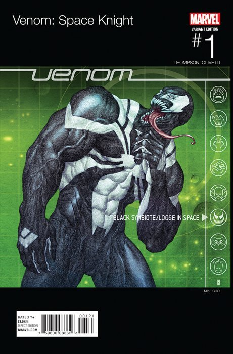 Venom: Space Knight Issue # 1b