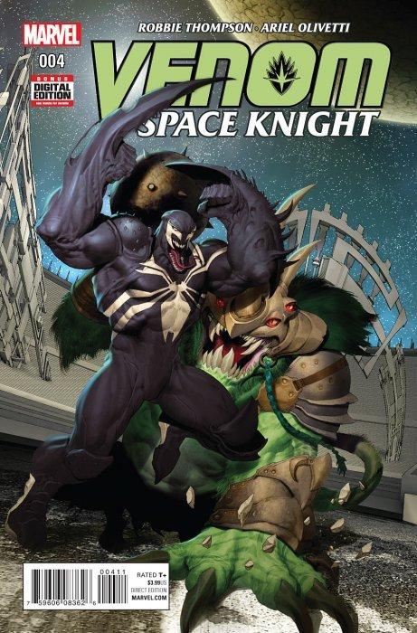 Venom: Space Knight Issue # 4