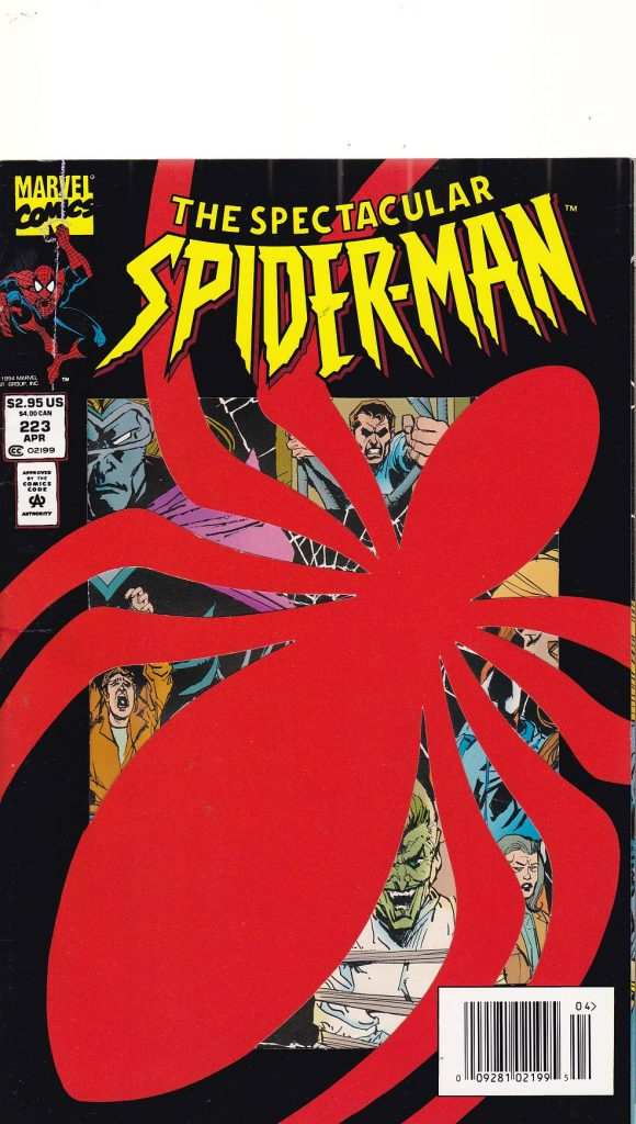 Spectacular Spider-Man Issue # 223 CONDT VERY FINE/NM